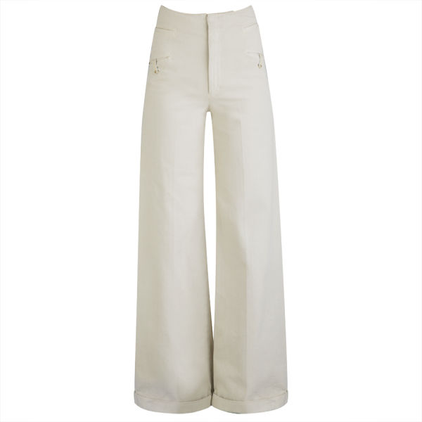 Twenty8Twelve Women's Trousers - Cream