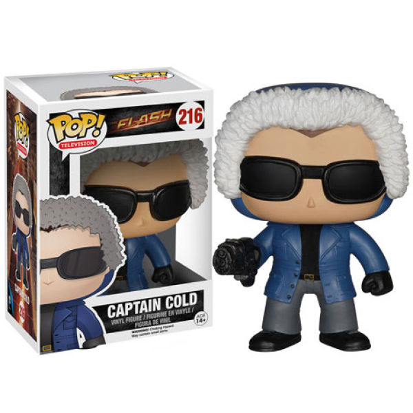 DC Comics Flash Captain Cold Pop! Vinyl Figure