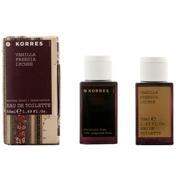 Korres Vanilla, Freesia & Lychee Edt (50ml)