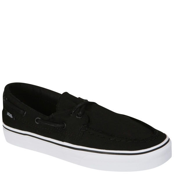 Vans Zapato Del Barco Canvas Deck Shoes Black True White
