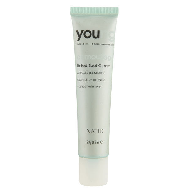 Crema Young Tinted Spot de Natio (22 g)