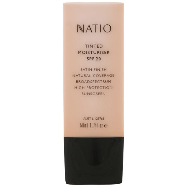 Natio Tinted Moisturiser Spf20 - Neutral (50ml)