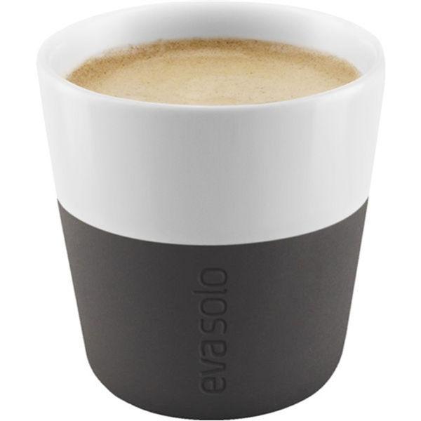 Eva Solo 80ml Espresso Tumbler - Set of 2 - Carbon Black