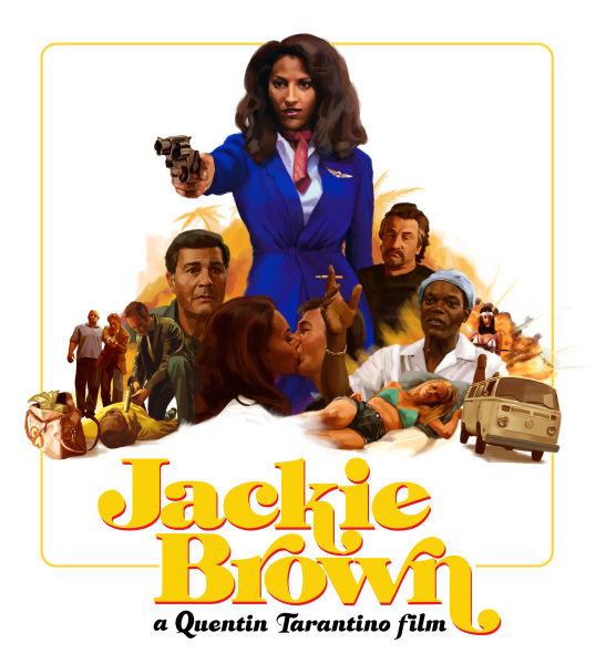 Jackie Brown - Zavvi Exclusive Limited Edition Steelbook ...