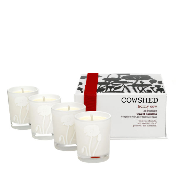 Cowshed Horny Cow Seductive Travel Candles
