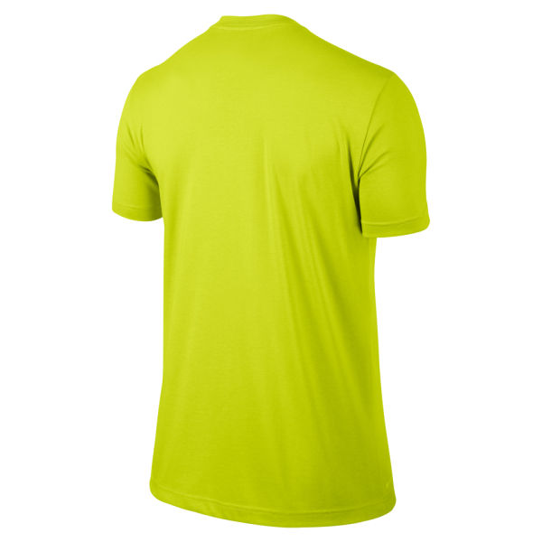 nike mens every damn dunk tshirt cyber green sports