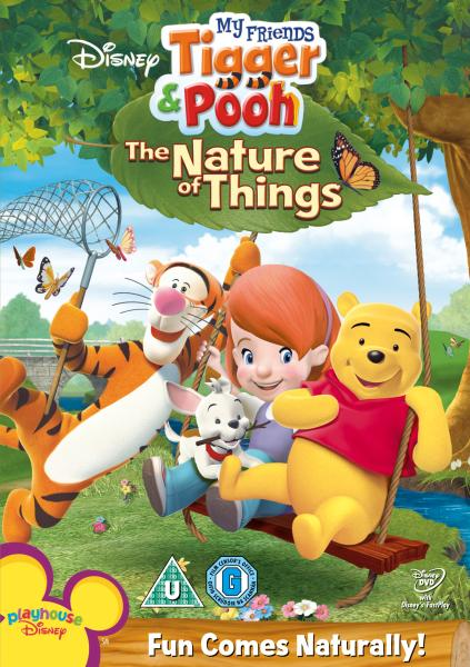 My Friends Tigger And Pooh The Nature Of Things Dvd Zavvi