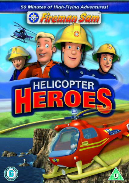 Fireman Sam Helicopter Heroes Dvd Zavvi