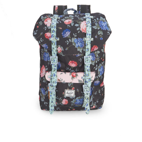 Herschel Supply Co. Little America Mid-Volume Backpack - Black Floral