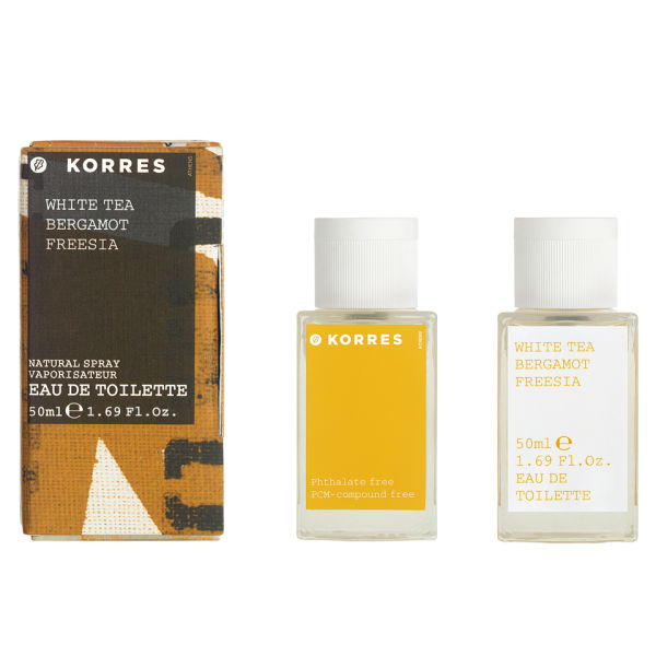 KORRES White Tea, Bergamot & Freesia Edt (50 ml)