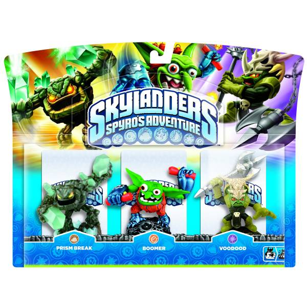 skylanders prism break boomer and voodood triple