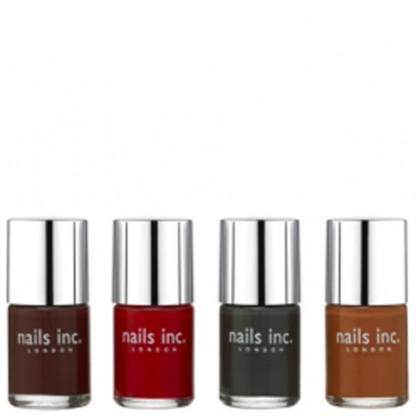Nails Inc. Autumn Winter 2011 Collection (4 Products)