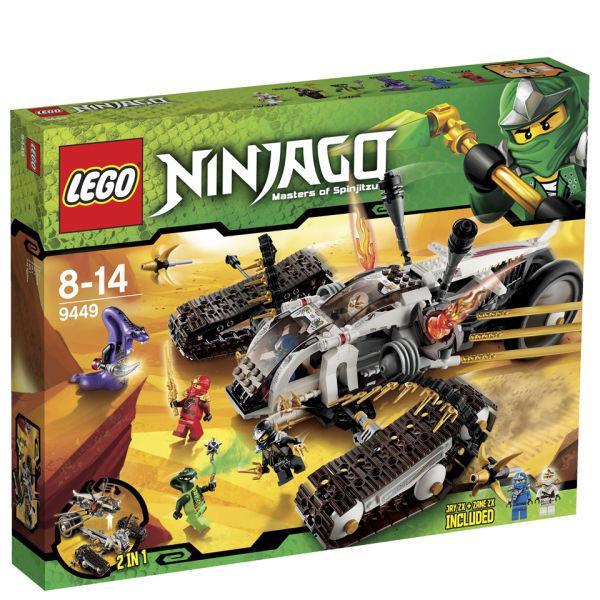 Lego Ninjago Ultra Sonic Raider 9449 Iwoot