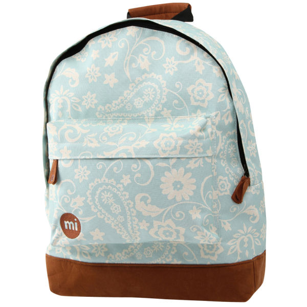 Mi-Pac Vintage Floral Print Backpack - Blue | Free Shipping | Lookfantastic