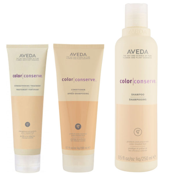 Aveda Colour Conserve Trio - Shampoing, Après-shampoing & Soin fortifiant