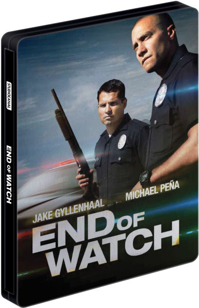 End of Watch - Steelbook Edition (Includes DVD) (UK EDITION)