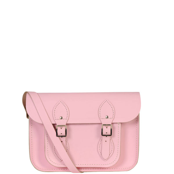 19e42bc46b57 The Cambridge Satchel Company 11 Inch Leather Satchel - Pastel Pink  Image 1