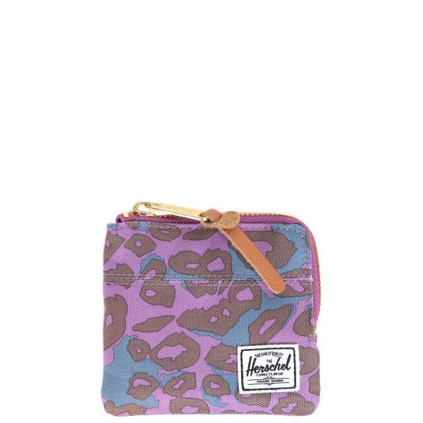 Herschel Supply Co. Johnny Wallet - Purple Leopard