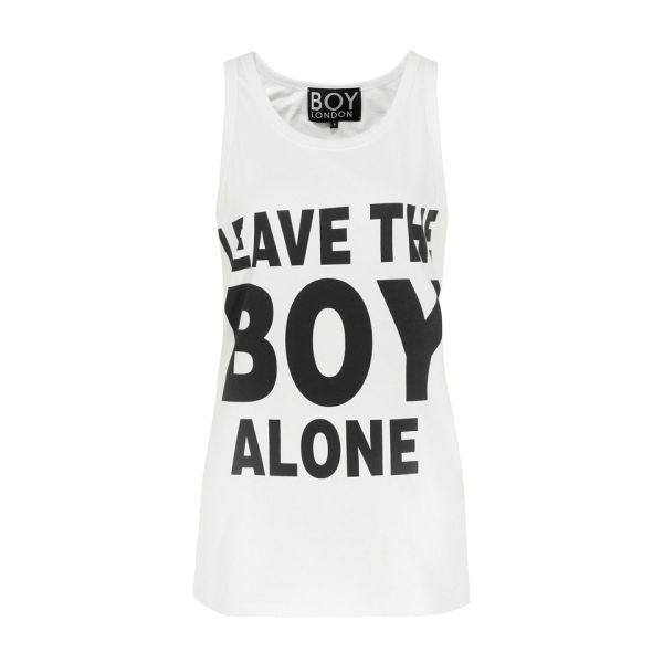 Boy London Women's Leave The Boy Vest - White