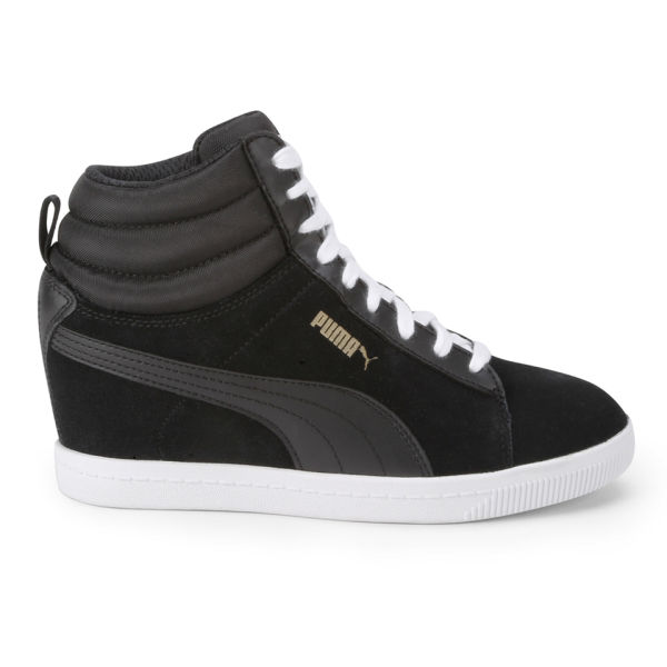 Puma Women's Classic Wedged Trainers - Black