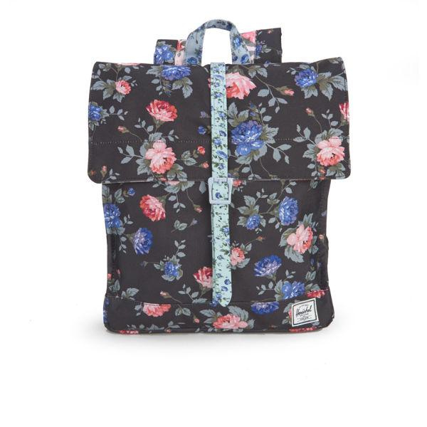 Herschel Supply Co. City Mid-Volume Backpack - Black Floral