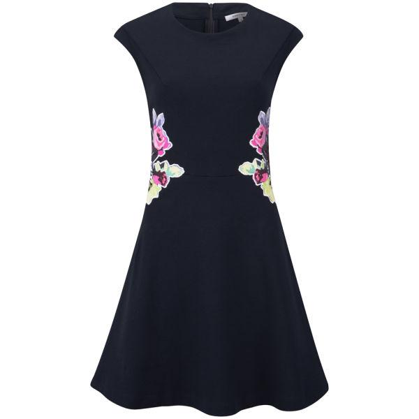 Carven Women's Jersey Dress - Navy