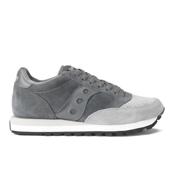 saucony jazz grey