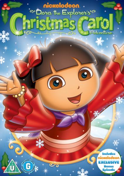 Dora the Explorer Doras Christmas Carol Adventure DVD