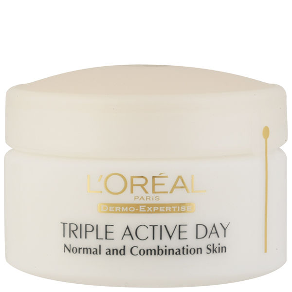 L'Oreal Paris Dermo Expertise Triple Active Multi-Protection Day Moistriser - Normal / Combination (50ml)