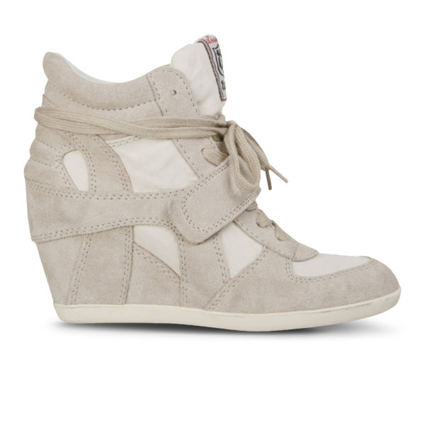 Ash Women's Bowie Suede Wedges  - Clay