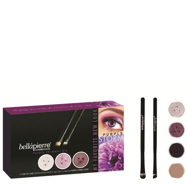 Bellapierre Cosmetics Get the Look Kit Purple Storm