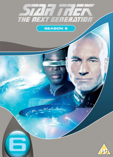 Star Trek The Next Generation - Season 6 [Slim Box]