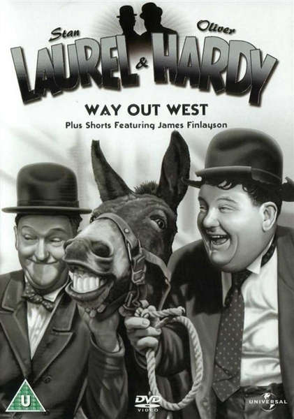 Laurel & Hardy - Way Out West Plus James Finlayson Shorts