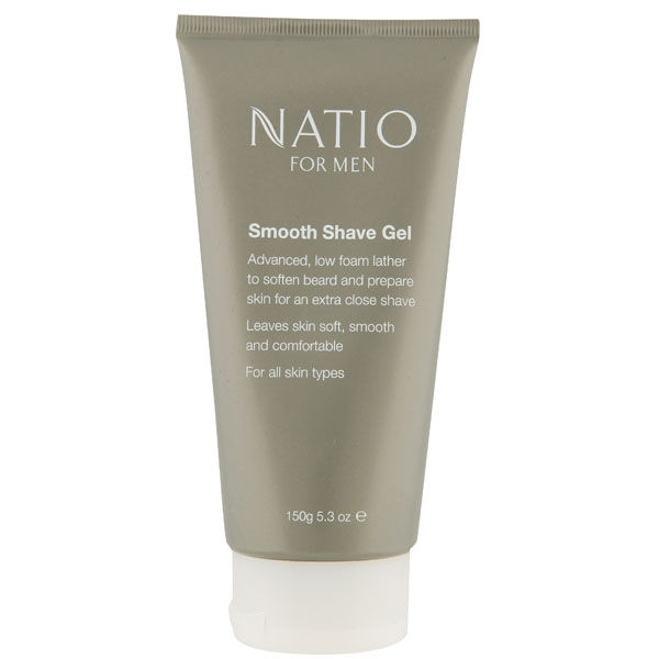 Natio For Men Smooth Shaving Gel (150g)