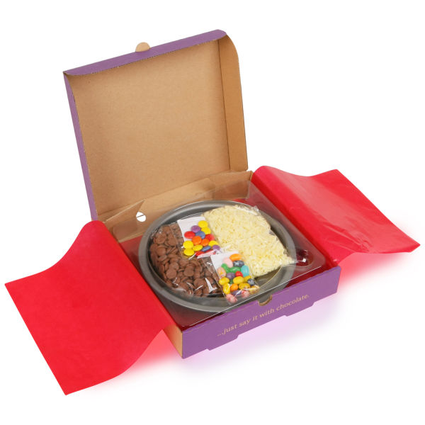 The Gourmet Chocolate Pizza Make Your Own Pizza Kit Iwoot
