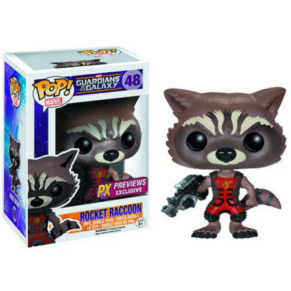 Marvel Guardians of the Galaxy Rocket Raccoon Ravagers Previews Exclusive Pop! Vinyl Figure