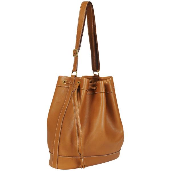 Hermes Local Depot >> Hermes Vintage Leather Bucket Bag