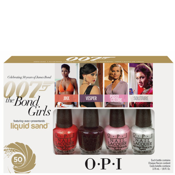 OPI Bond Girls by OPI Mini Packs (4 x 3.75ml)