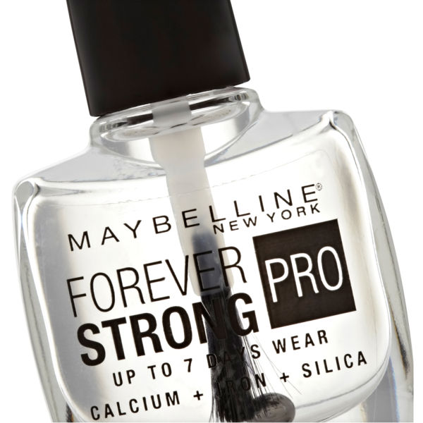 Maybelline forever strong nail varnish crystal clear for 24 hour nail salon new york