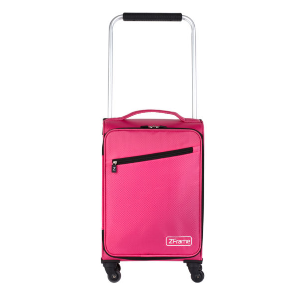 Z Frame 18 Inch Super Lightweight 4 Wheel Suitcase - Pink Clothing ...