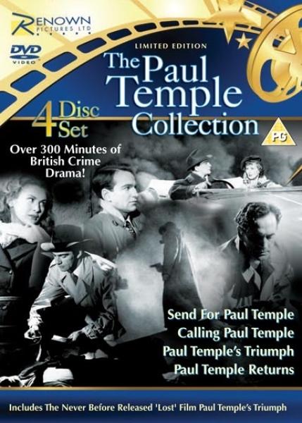 Paul Temple Box Set Dvd Zavvi