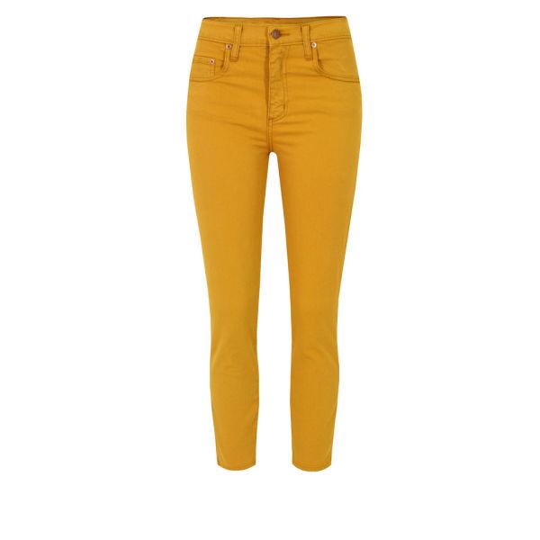Nobody Women's Cult Crop Jeans - Honey
