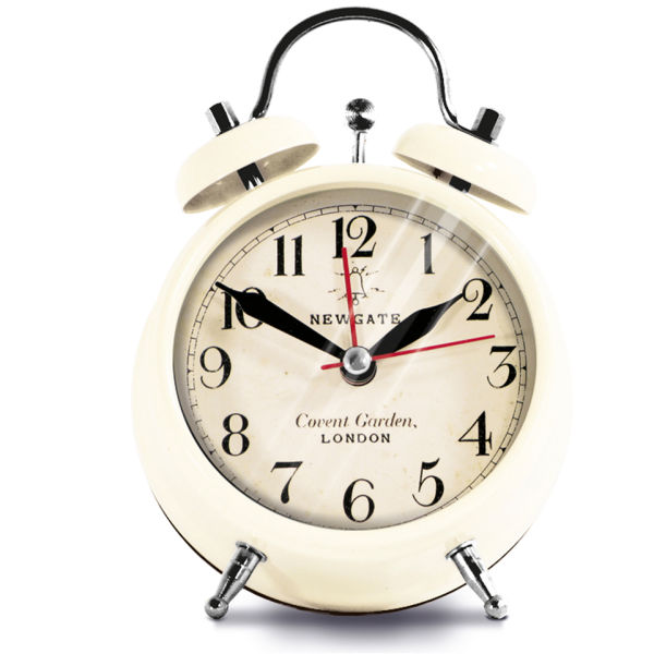Newgate Covent Garden Small Clock - Cream