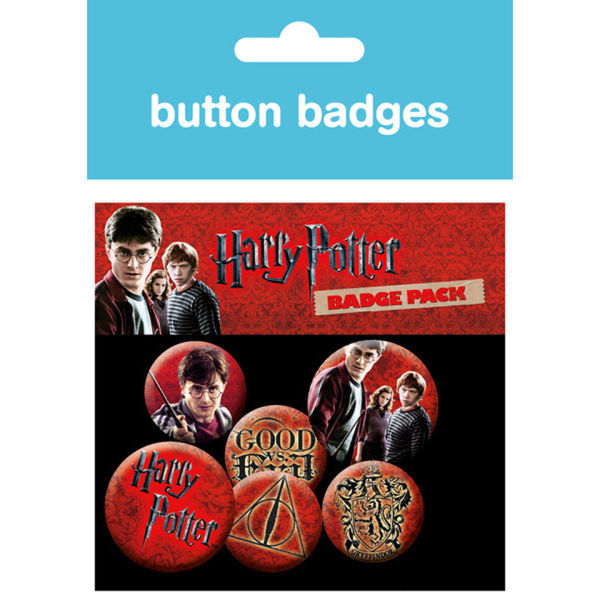 Lot de Badges Harry Potter