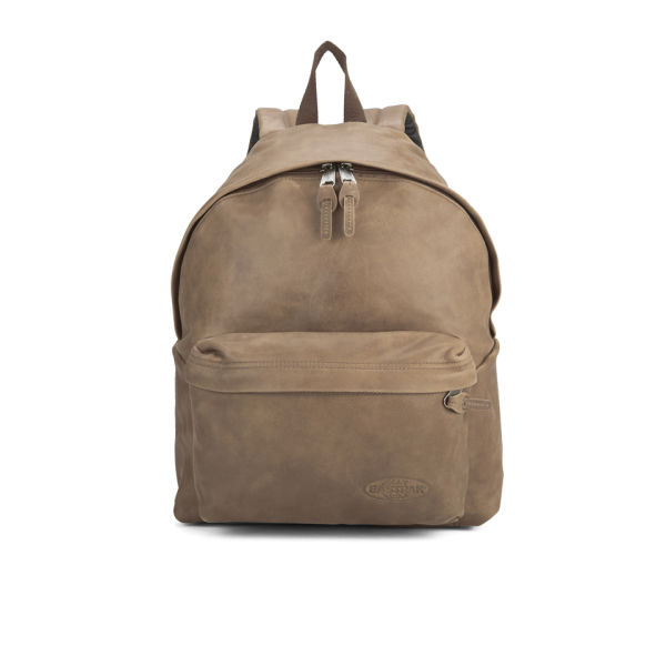 Eastpak Men's Padded Pak'r Leather Backpack - Russet Clothing ...