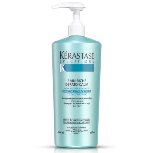 Shampooing bain riche dermo calm de la gamme sp cifique for Bain miroir 1 kerastase
