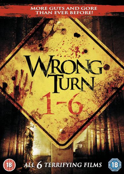 Wrong Turn 1 6 Dvd Zavvi Com