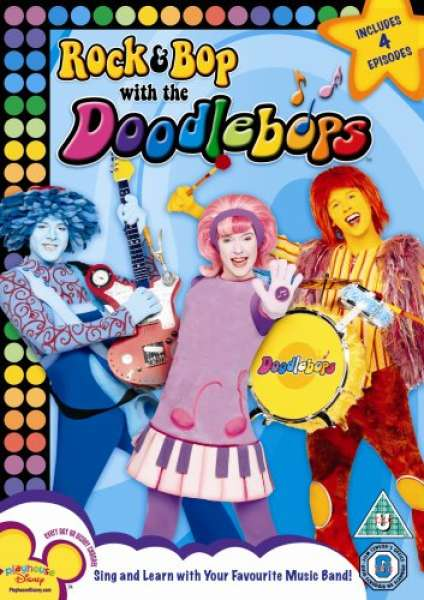 Rock And Bop With The Doodlebops Dvd Zavvi