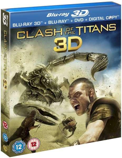 clash of the titans  3d blu