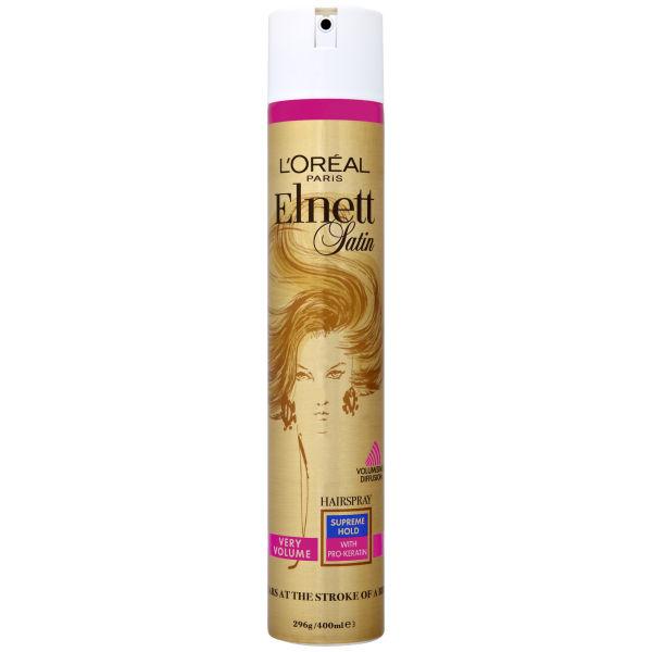 L Or 233 Al Paris Elnett Satin Very Volume Hairspray Supreme